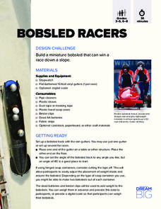 Build a Bobsled Racer Activities & Project