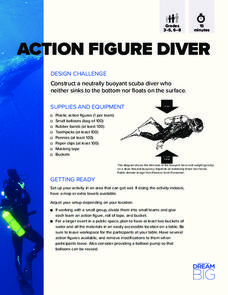 Action Figure Diver Activities & Project