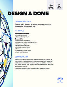 Design a Dome Activities & Project