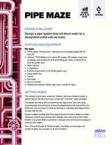 Pipe Maze Activities & Project