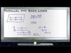 Parallel and Skew Lines: Lesson Video