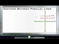 Distance Between Parallel Lines: Lesson Video