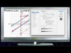 Parallel Lines in the Coordinate Plane: Lesson Video