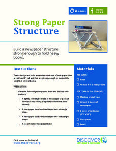 Strong Paper Structure Activities & Project
