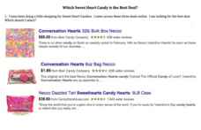Which Sweet Heart Candy Is the Best Deal? Worksheet