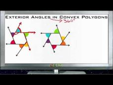 Exterior Angles in Convex Polygons: Lesson Video