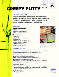 Creepy Putty Activities & Project