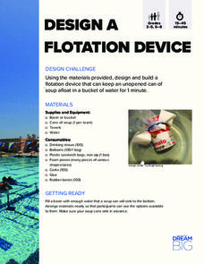 Design a Flotation Device Activities & Project