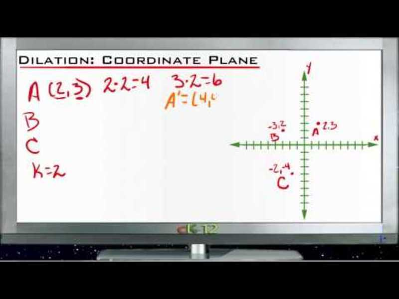 Dilation in the Coordinate Plane: Lesson Video