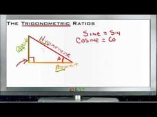 The Trigonometric Ratios: Lesson Video