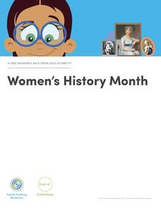 Women's History Month Lesson Plan