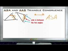ASA and AAS Triangle Congruence Lesson Video