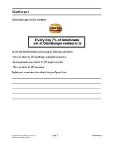 Giantburgers Assessment
