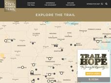 Explore the Civil Rights Trail—Interactive Map Interactive