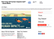 How Long Will Human Impacts Last? Video