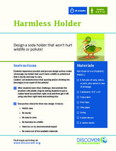Harmless Holder Activities & Project