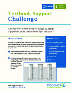 Textbook Support Challenge Activities & Project