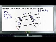 Parallel Lines and Transversals: Lesson Video