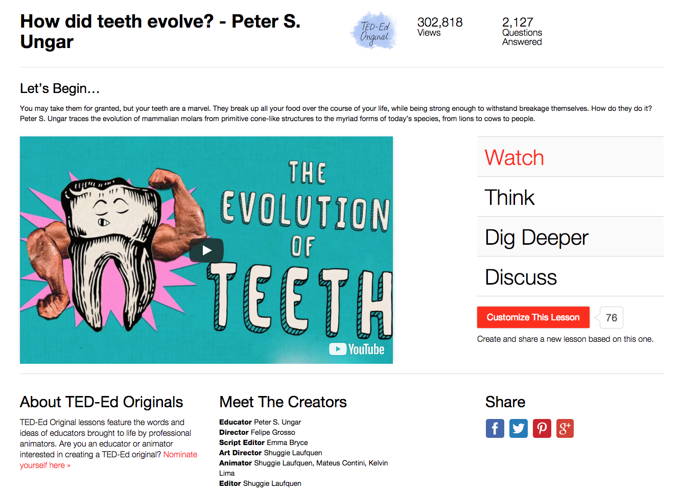 How Did Teeth Evolve? Video