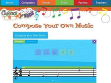 Compose Your Own Music Interactive