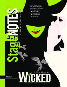 Wicked: A New Musical Unit
