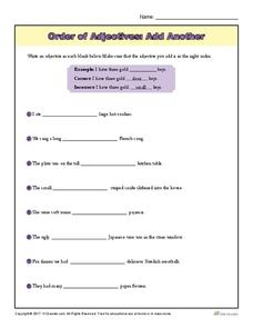Adjectives in French Lesson Plans & Worksheets Reviewed by ... on free worksheets using adjectives, free printable vocabulary worksheets, free printable analogy worksheets, preschool adjective worksheets, fun adjective worksheets, free printable distributive worksheets, free printable language worksheets, free printable esl worksheets adult, free printable comma worksheets, free printable idiom worksheets, adverb worksheets, free printable predicate worksheets, free printable consonant worksheets, printable number bingo worksheets, free printable suffix worksheets, free printable compound words worksheets, free printable simile worksheets, amazing adjective worksheets, printable months of the year worksheets, free printable grammar worksheets,