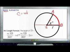 Measuring Arc Length: Lesson Video