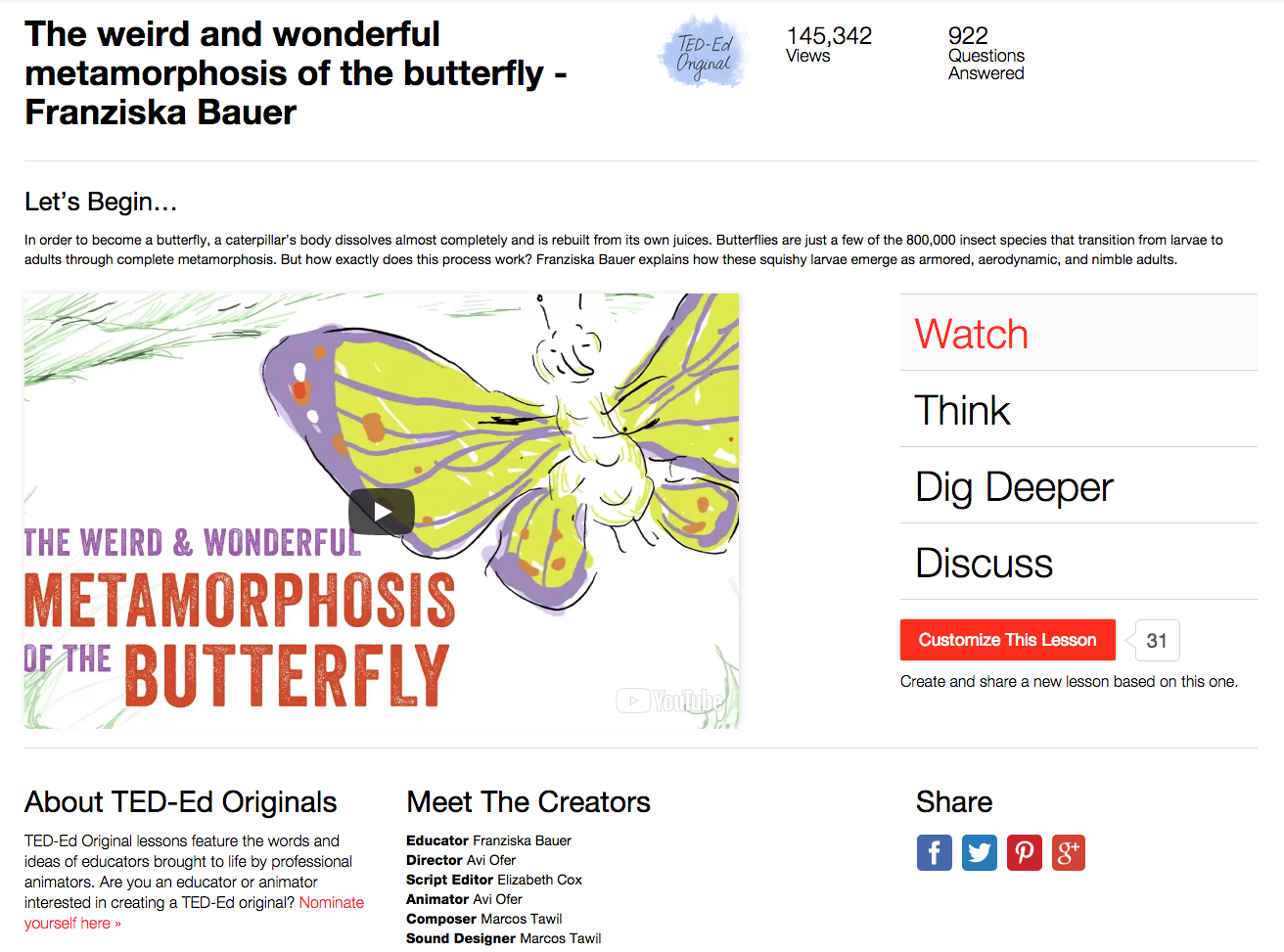 The Weird and Wonderful Metamorphosis of the Butterfly Video