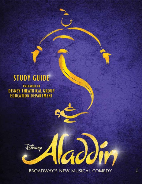 ALADDIN: Broadway's New Musical Comedy Unit