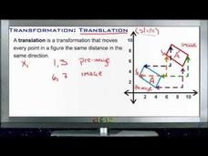 Transformation - Translation: Lesson Video