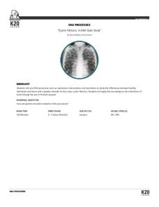 Cystic Fibrosis: A DNA Case Study Lesson Plan