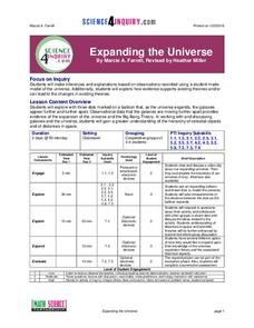 Expanding the Universe Lesson Plan