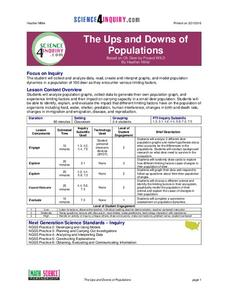 The Ups and Downs of Populations Lesson Plan