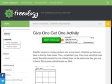 Give One - Get One Worksheet