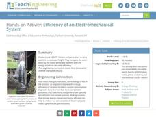Efficiency of an Electromechanical System Activities & Project