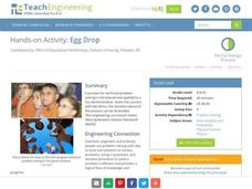 Egg Drop Lesson Plans Amp Worksheets Reviewed By Teachers
