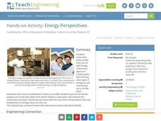 Energy Perspectives Activities & Project