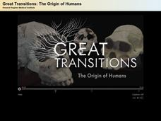 Great Transitions: The Origin of Humans Video
