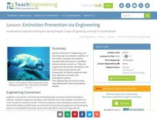 Extinction Prevention via Engineering Lesson Plan