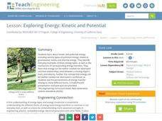 Exploring Energy: Kinetic and Potential Lesson Plan