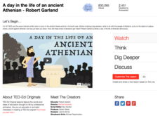 A Day in the Life of an Ancient Athenian Video