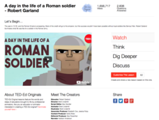 A Day in the Life of a Roman Soldier Video