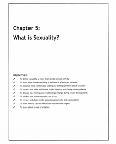 Sexuality in the media lesson plans