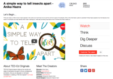 A Simple Way to Tell Insects Apart Video