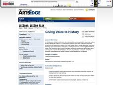 Giving Voice to History Worksheet