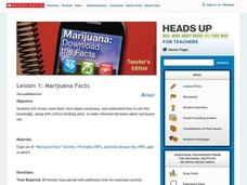 Marijuana Facts Lesson Plan