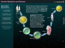 Genetic Mutations and Disease Interactive Interactive