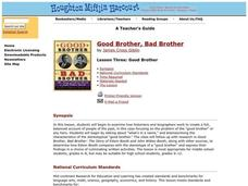 Good Brother, Bad Brother Lesson Plan