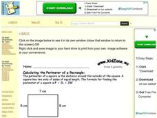 Grade 4 Geometry Worksheet