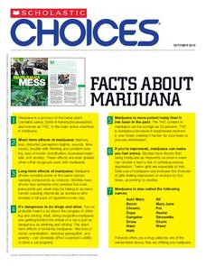 Facts About Marijuana Handouts & Reference